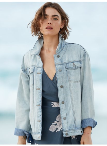 Roxy Midnight Drive Jean Jacket