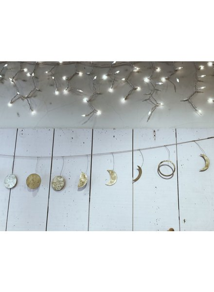 Roost Phases of the Moon Silver Garland