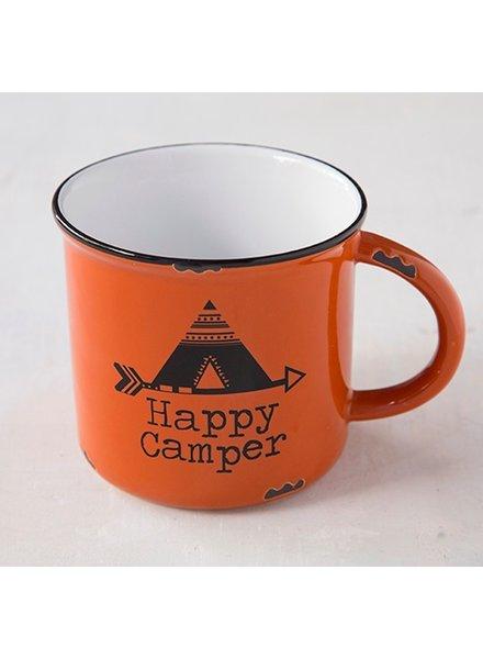 Natural Life Happy Camper Camp Mug