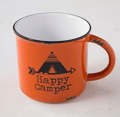 Natural Life Happy Camper Camp Mug