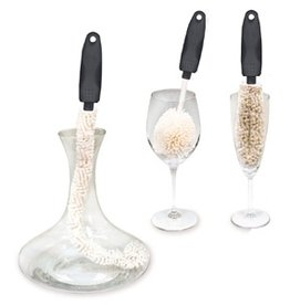 Corkpops Wine Brush Cleaning Trio