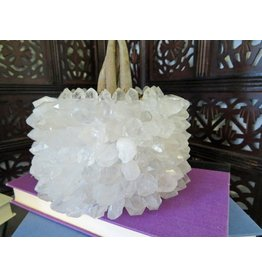 Rock Paradise Crystal Point Plant Holder-Quartz