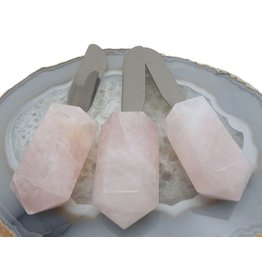 Rock Paradise Rose Quartz Butter Spreader
