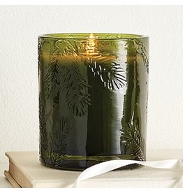 FRASIER FIR GREEN GLASS CANDLE