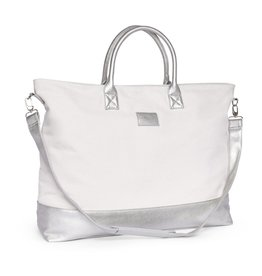Beverly Weekender Bag- Bright Silver