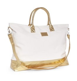 Beverly Weekender Bag- Gold
