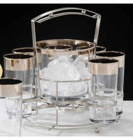 Ice Bucket with Platinum Band