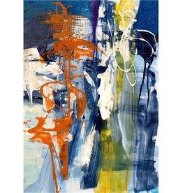 Leftbank Art Surface Feelings II w/ Silver Frame 50x71