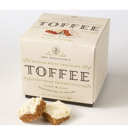 Mrs. Weinstein's Toffee™ Belgian White Chocolate Pecan Toffee Squares (16 oz)