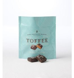 Mrs. Weinstein's Toffee™ Dark Chocolate Almond Sea Salt Toffee Squares (3 oz)