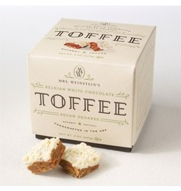 Mrs. Weinstein's Toffee™ Belgian White Chocolate Pecan Toffee Squares (8 oz)
