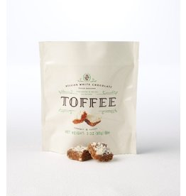 Mrs. Weinstein's Toffee™ Belgian White Chocolate Pecan Toffee Squares (3 oz)