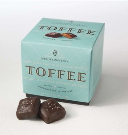 Mrs. Weinstein's Toffee™ Dark Chocolate Almond Sea Salt Toffee Squares (16 oz)