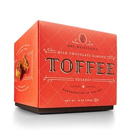 Mrs. Weinstein's Toffee™ Milk Chocolate Almond Toffee Squares (16 oz)