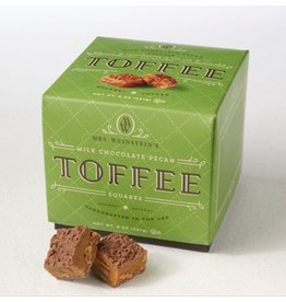 Mrs. Weinstein's Toffee™ Milk Chocolate Pecan Toffee Squares (8 oz)