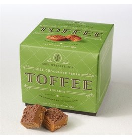 Mrs. Weinstein's Toffee™ Milk Chocolate Pecan Toffee Squares (16 oz)
