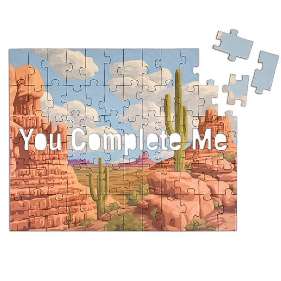 Puzzle: You Complete Me