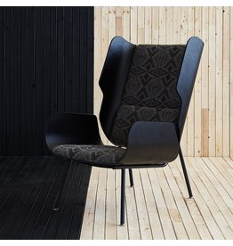 Elk Chair, Pendleton Diamond Charcoal