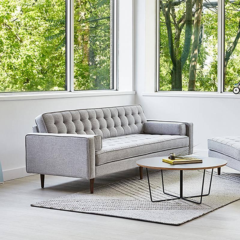 Spencer Sofa, Wood Base