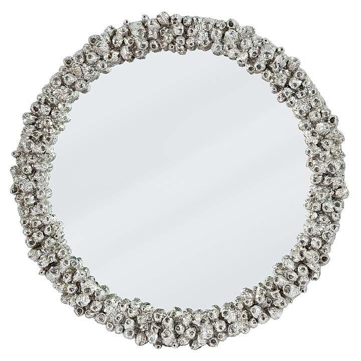 Silver Barnacle Mirror