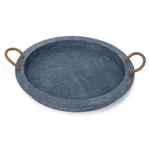 Aegean Serving Tray (Indigo)