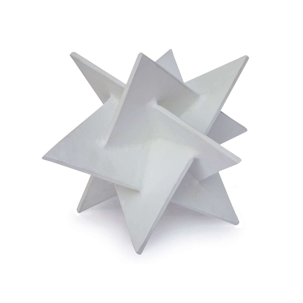 Origami Star Small White