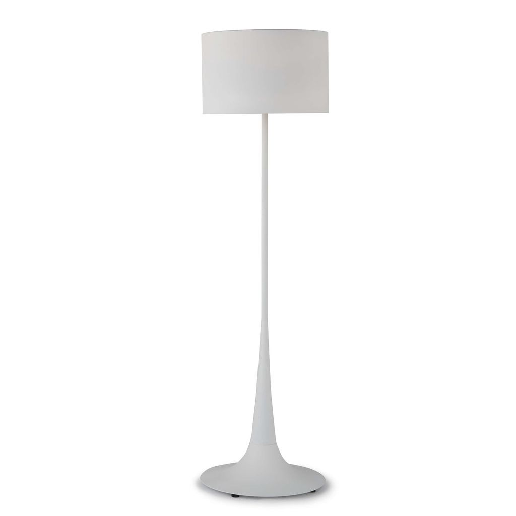 Trilogy Floor Lamp (White Iron)