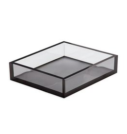 Caspari Acrylic Luncheon Napkin Holder - Smoke
