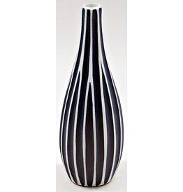 Art Floral Trading Modo Vase BL6 - Veritcal Navy