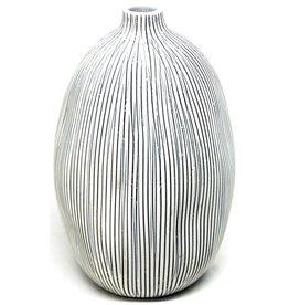 Art Floral Trading GuGu Sag Vase WO7 - Vertical B&W