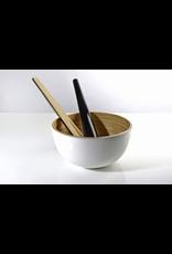 Bibol Tchon Small Salad Bowl 7.8x3.9- White