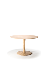 Torsion Dining Table, Oak, 50x50x30