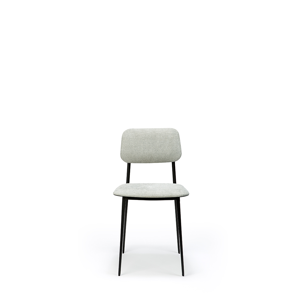 DC Dining Chair, Light Gray
