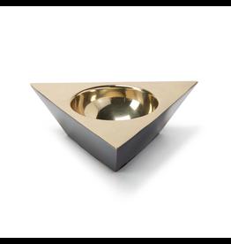Metal Triangle Dish