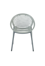 Eurostyle Lima Stacking Arm Chair - Gray