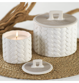 Woven Candle, Sunset Beach, 8.3 oz.