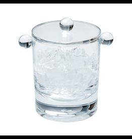Caspari Acrylic 60oz Ice Bucket w/ Lid - Clear