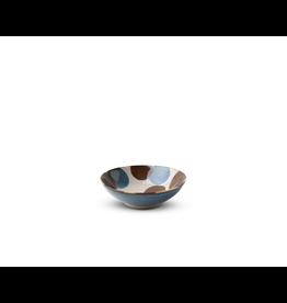 Miya Rustic Blue & Brown 5.75in Bowl