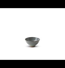 Miya Celadon Stripes 4.5in Rice Bowl