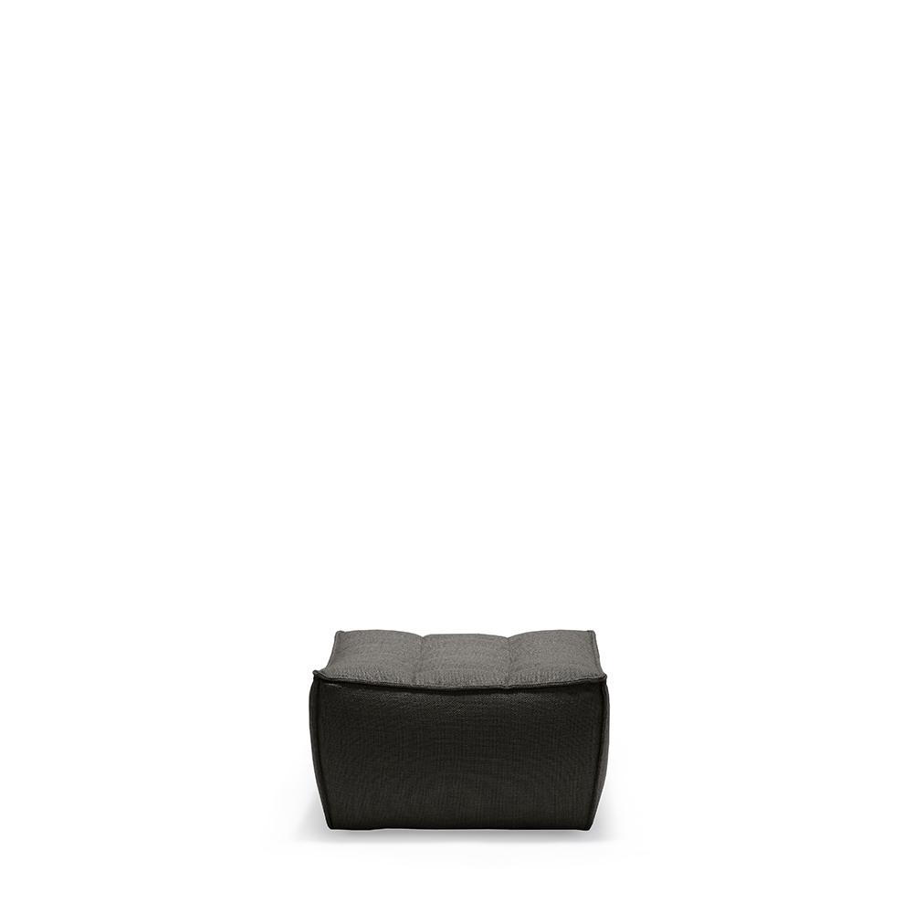 Footstool, Dark Gray