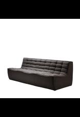 Three-Seater, Dark Gray