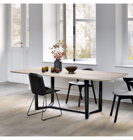 Oak Facette Dining Table