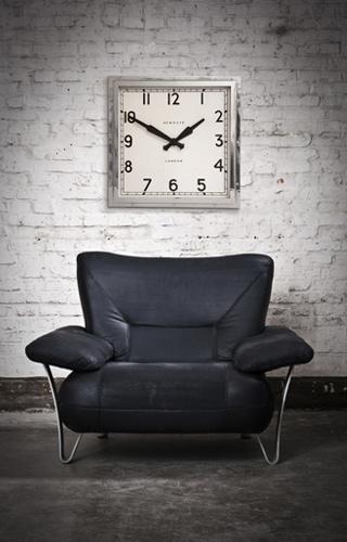 The Embankment Clock- Chrome