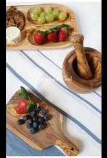 Scents & Feel Olive Wood Pesto Y Mortar