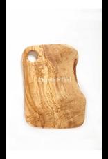 Scents & Feel Olive Wood 11in Medium Cheeseboard w/ Hole
