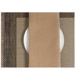 Single Sided Linen Napkin, Caramel