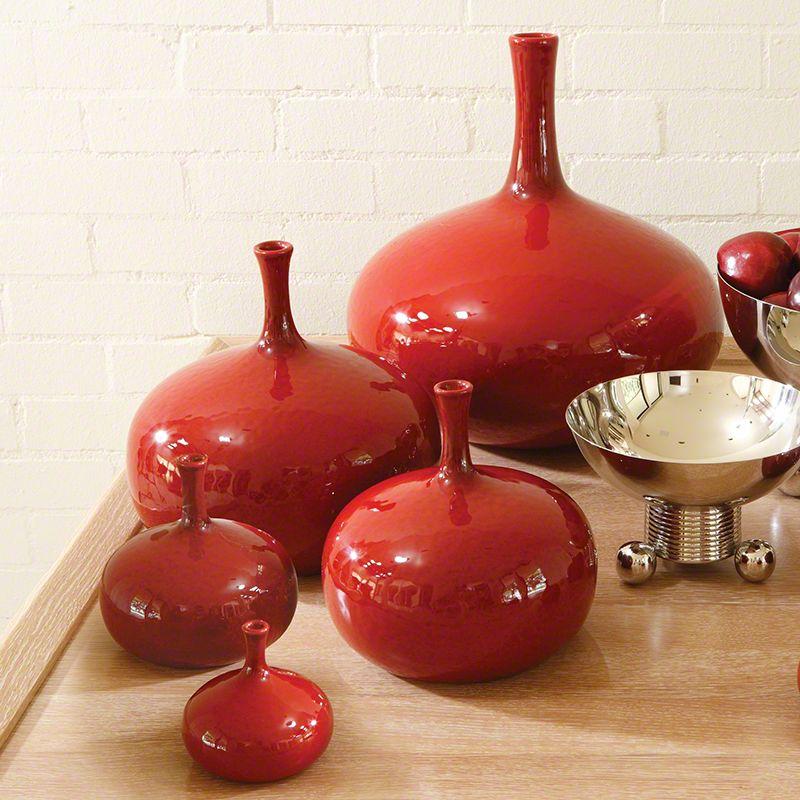 Large Tomato Vase