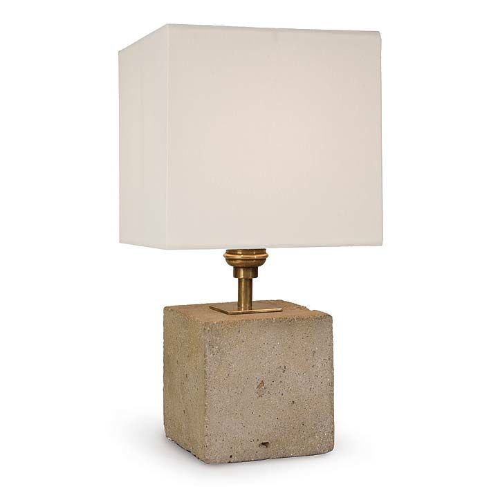 Concrete Mini Cube Lamp