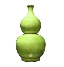 Gourd Vase, Lime Green