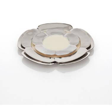 Aster Charger, Polished/Oyster